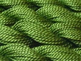 DMC Pearl Cotton Size 3 Color #937 Medium Avocado Green - $1.70
