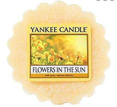 Six (6 ) Yankee Candle Flowers In The Sun Scented Tart Wax Melt - $18.00