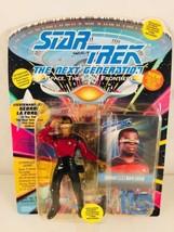 Playmates Toys Star Trek the Next Generation Lt Commander Geordi LaForge... - $9.29