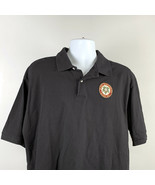 Pabst Brewing Beer Since 1844 Embroidered Polo Golf Shirt Mens XL Black ... - $28.66