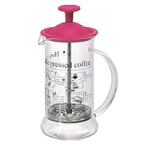 Hario French Press Coffee Maker Cafe Press Slim Cherry Red CPS-2PC - $26.47