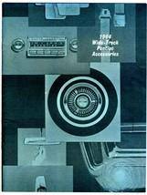1964 Wide Track Pontiac Accessories Catalog Star Chief Bonneville Grand ... - $44.50