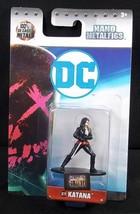 "Jada DC Nano metalfigs diecast DC19 Suicide Squad KATANA 1.5"" NEW - $3.75"