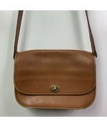 coach leather handbag willis brown tan 202-07 VINTAGE - $79.20