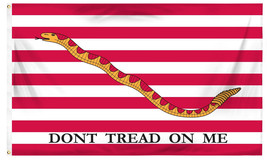 3' x 5' Cotton U.S. First Navy Jack Don't Tread On Me Flag - $49.99
