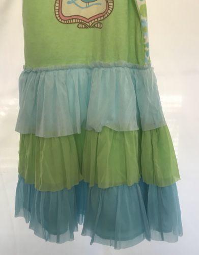 Girls Dollie /& Me Size 6 /& 4 Floral Ruffled Bottom Long Sleeved Dress
