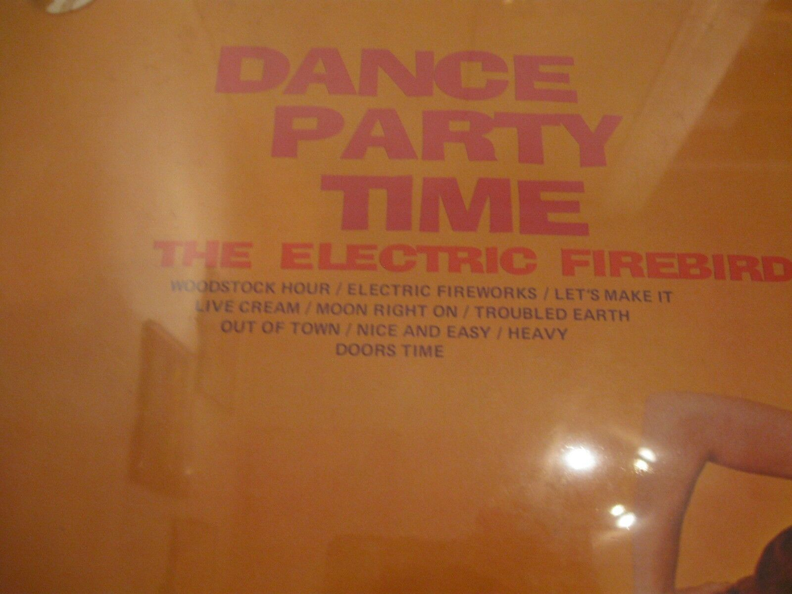 The Electric Firebirds Dance Party Time Crown CST618 Stereo SEALED LP Cheesecake