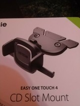 iOttie Easy One Touch 4 CD Slot Car Mount Universal Phone Holder - Black - $18.77