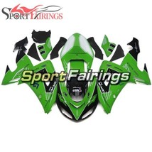 Green White Black Hulls For Kawasaki 2006 2007 ZX10R Cowlings ZX1000D Bo... - $383.92