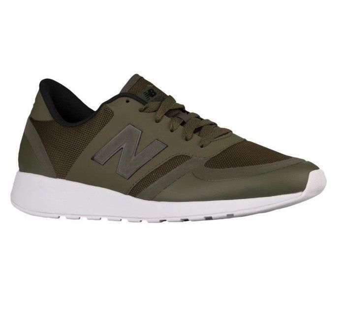 Primary image for New Balance Reflective Running Shoes Olive Green Mens Size 12 MRL420OB