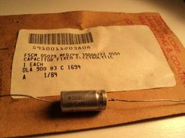M39006/22-0554 Axial Wet Tantalum 100UF 30V T3 Case Mil Spec Capacitor - $24.95