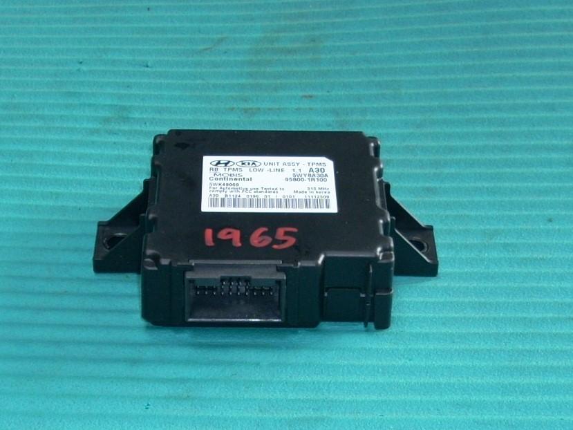 2012 2013 2014 HYUNDAI ACCENT TIRE PRESSURE CONTROL TPMS 95800-1R100 OEM