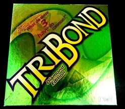Tribond Diamond Edition Board Game-Complete - $12.00