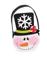 Mud Pie North Pole Felt Treat Bag, Snowman - $8.77