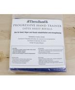 Thera-Band Progressive Hand Trainer Latex Sheet Refills Blue Pack of 6 - $19.99
