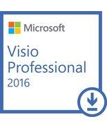 Microsoft Visio 2016 Professional - 32/64 Bit - Genuine - Instant Deilvery - $24.94