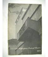 Katherine Hepburn American Shakespeare Festival Theatre 1957 Program  Drake - $39.59