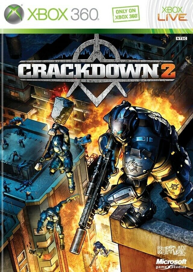 Primary image for  Crackdown 2 Xbox 360 X360  With Case