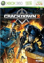 Crackdown 2 Xbox 360 X360  With Case - $9.59
