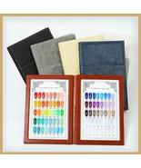 PU Leather Display Nail Art Book Gel Polish Color Card Tips Chart High-e... - $29.84