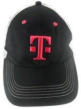 T-Mobile Tuesdays Cellphone Black & Pink Mesh Trucker Snapback Cap Hat - $9.89