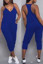 Euramerican Dew Shoulder Pocket Design Jumpsuits - $21.64
