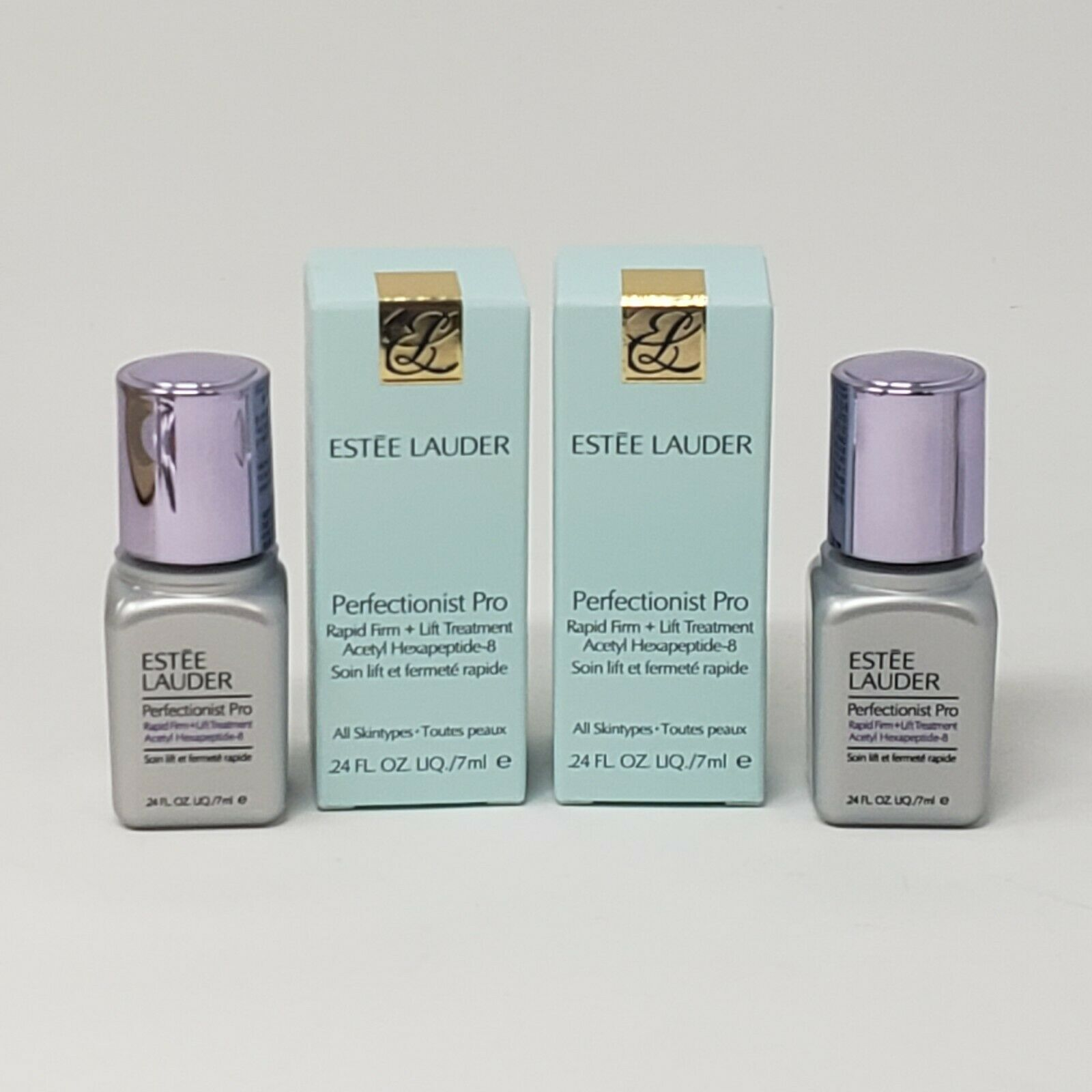 2 New Estee Lauder Perfectionist Pro Rapid Firm + Lift Treatment .24 oz Each - $17.75