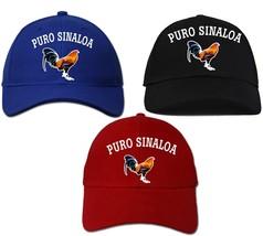 Cap Hat Puro Sinaloa_ Adjustable Strap_100% Cotton_Digital Transfer Logo_. - €15,67 EUR