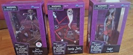 Nightmare Before Christmas Complete Set of 3 Walgreens Exclusives NEW in... - $59.99