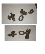 TWO ANTIQUE GAS VALVES - $24.99