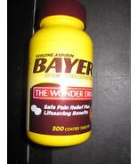 Bayer Aspirin Schmerzen Abzubauen 500 Tabletten 325mg - $17.47