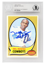 Mel Renfro Signed Dallas Cowboys 1970 Topps Football Card #45 - $65.00