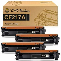 CMYBabee Compatible Toner Cartridge Replacement with Chip for HP 17A CF2... - $49.11