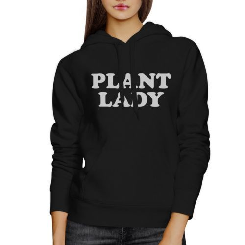 Plant Lady Unisex Cute Graphic Hoodie Unique Gift Ideas For Her