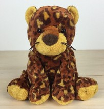 "2003 Ty Pluffies Leopard Pokey 8"" Brown Plush Cat Cheetah - $17.81"