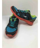 Catapult Womens Running Shoes Blue Black Leather Laces Low Training Snea... - $9.59