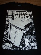 VINTAGE STYLE DOCTOR WHO Lost In Time & Space!  BBC T-Shirt XL NEW - $19.80