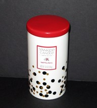 Yankee Candle ICED PINE BERRY Get Your Glamour On Ceramic Jar Candle 12.5 oz - $14.95