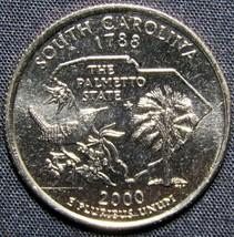 2000 P South Carolina Washington Quarter Coin - $1.99