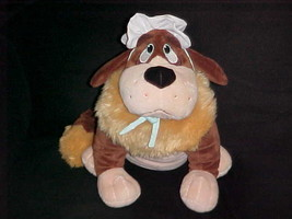 """14"""" Nana Plush Newfoundland Dog From Peter Pan From The Disney Store - $74.24"""