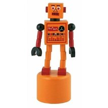 Robot Ringer Push Puppets by Streamline - $9.43