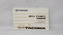 2005 Toyota Tacoma Owners Manual 82560 - $31.92
