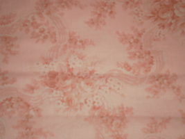 "Scarborough Fair by Robyn Pandolph for RJR Fabrics (Peach) 36"" Long HTF - $19.95"