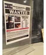 Batman The Dark Knight Wanted poster custom-made  only here  - $30.00