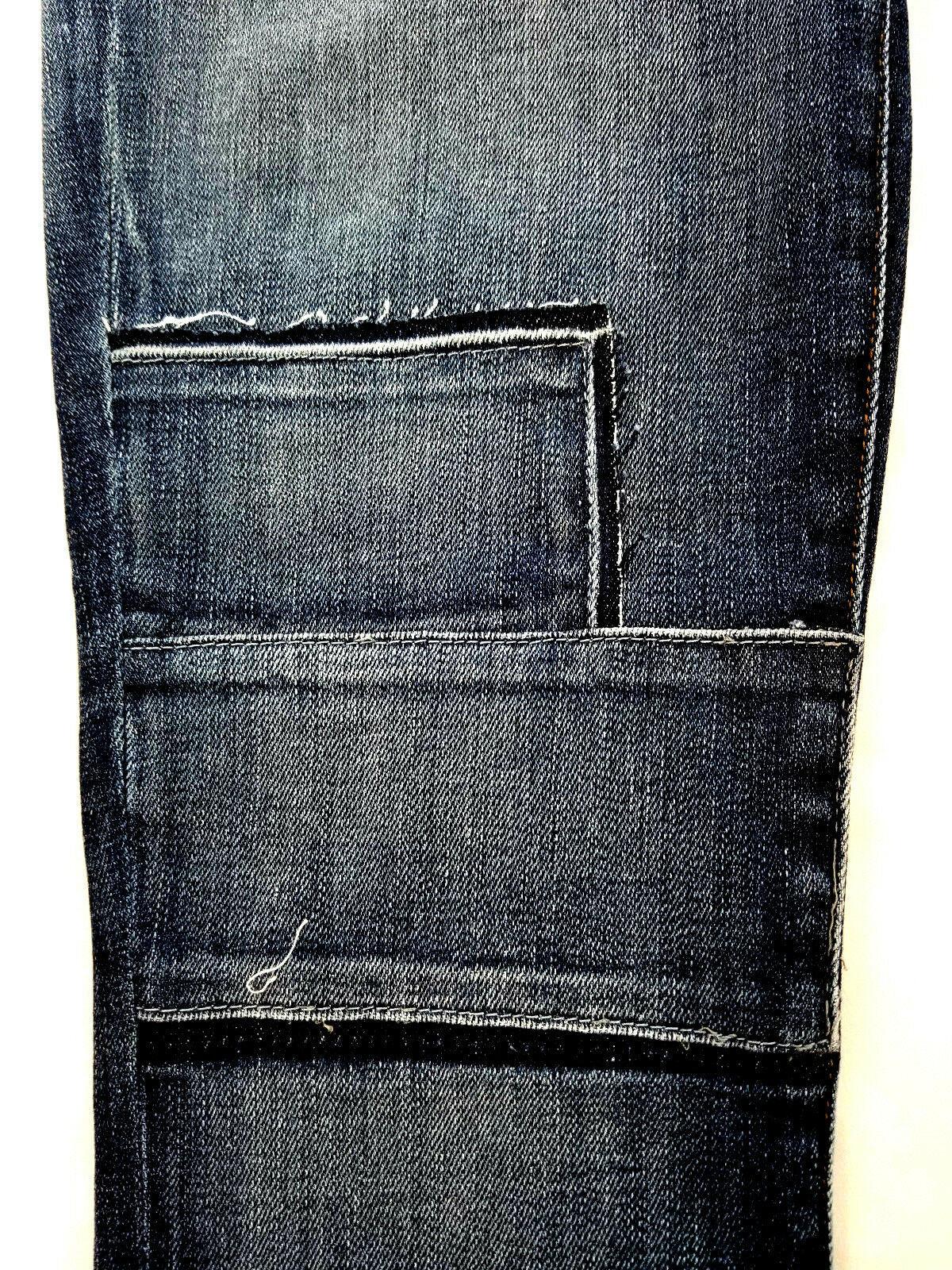 new J BRAND women jeans Jasper Patched JB001098 high rise crop 26 blue MSRP $298 image 7