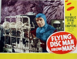 FLYING DISC MAN FROM MARS (1950) Classic Sci-FI B-Movie  Buy 2 DVD's, Ge... - $7.49