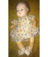"Antique Effanbee 15"" Dy-Dee Baby Doll Caracul Wig AS IS - $189.95"