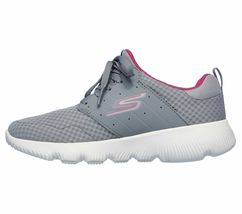 Skechers Gray Pink shoes Women's Sport Go Run Athletic Mesh Comfort Casual 15162 image 3
