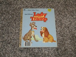 Disney's Lady and the Tramp, Little Golden Book - $5.93