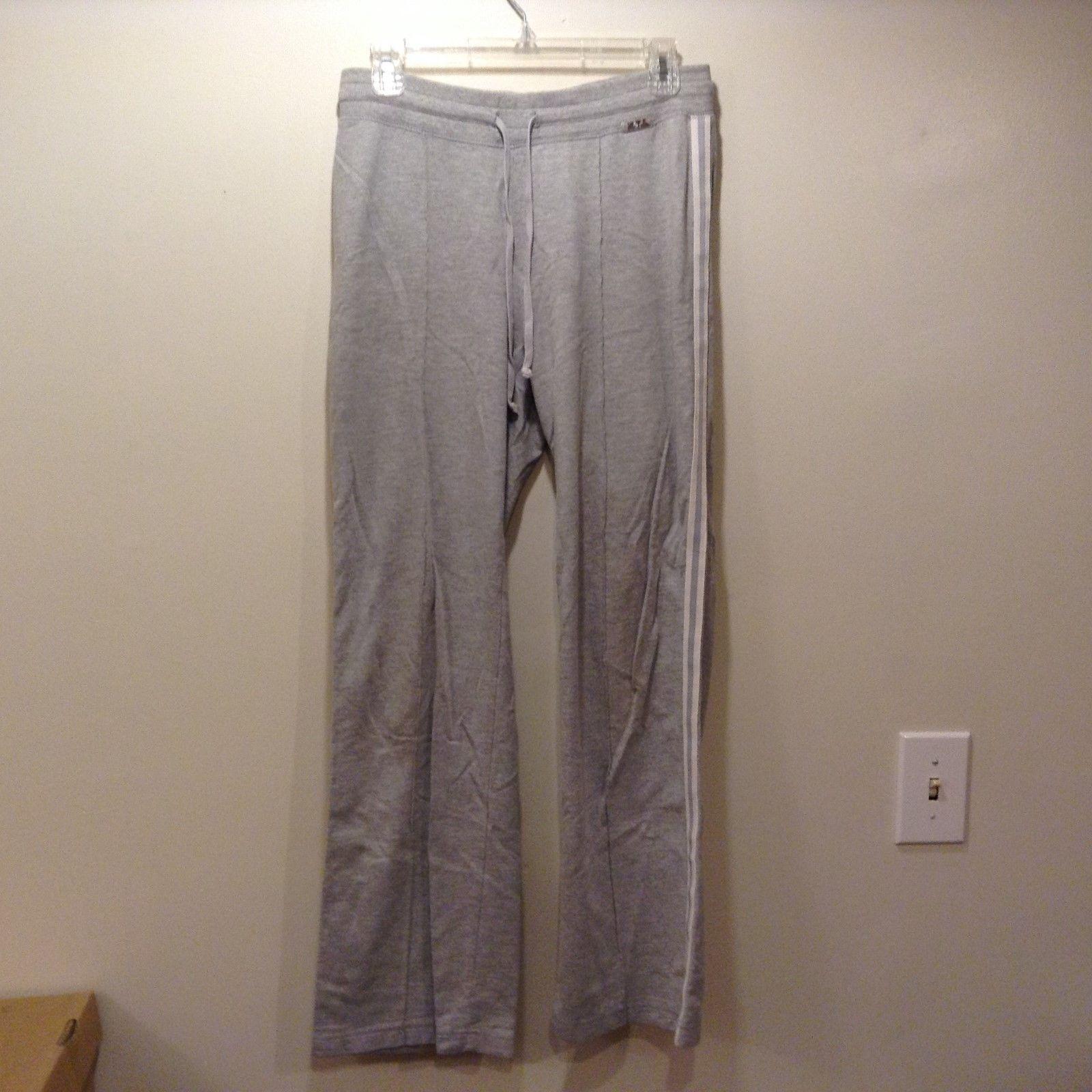 N.Y.L Light Grey Workout Pants Sz Small